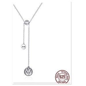 """Genuine 925 Sterling Silver """"Tree of Life""""Necklace"""